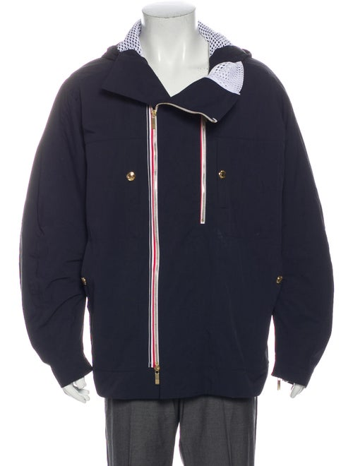 Thom Browne Windbreaker Blue