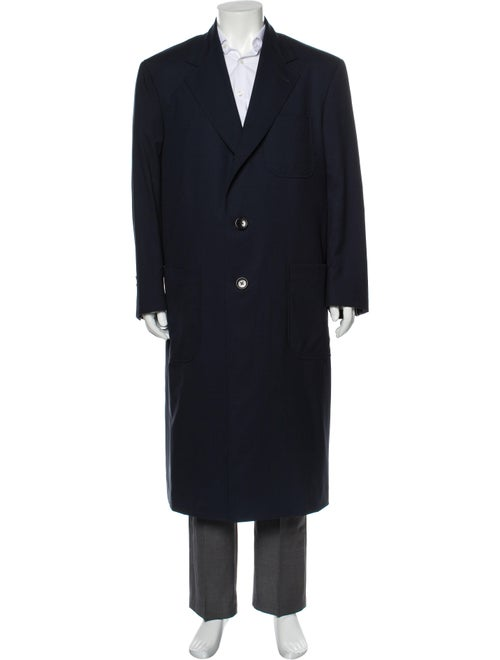 Thom Browne Overcoat Blue