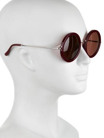Circular Gradient Lens Sunglasses