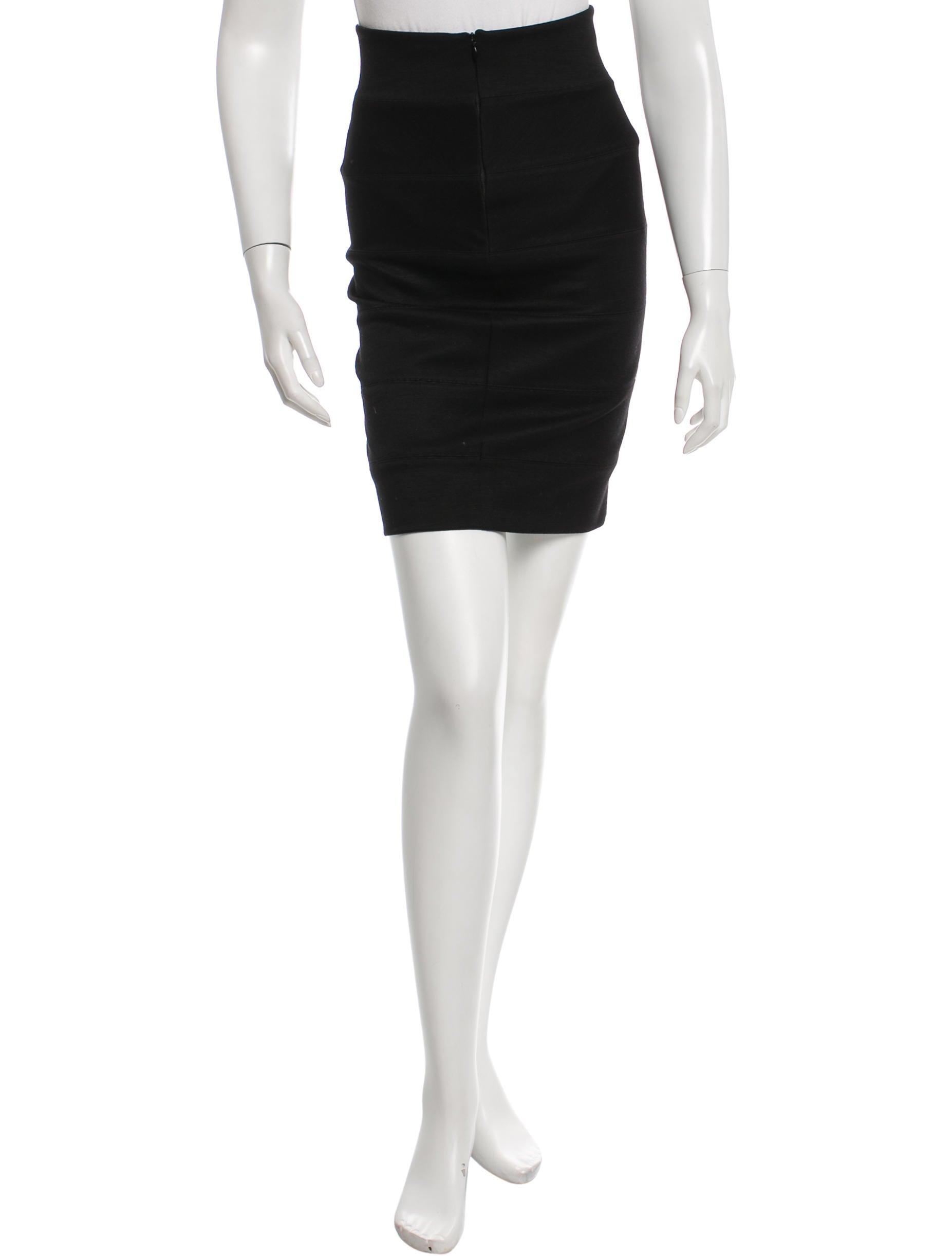 the row knee length pencil skirt clothing thr27177