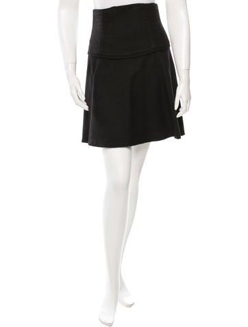 The Row Alpaca A-Line Skirt