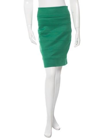The Row High-Waist Bodycon Skirt None