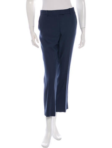The Row Cropped Wool Pants