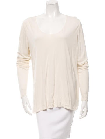 The Row Long-Sleeve Top None