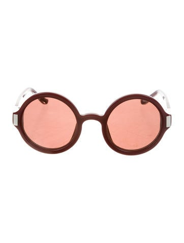 The Row Oversize Tinted Sunglasses w/ Tags None