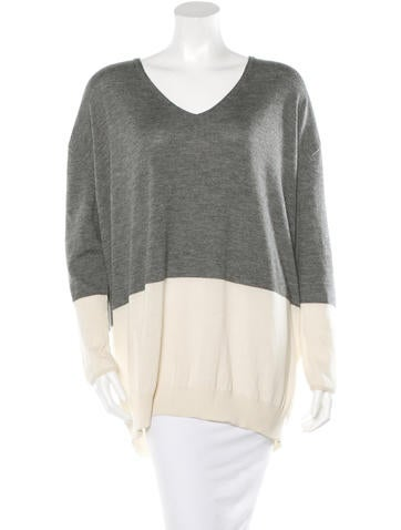 The Row Tammy Cashmere-Blend Top None