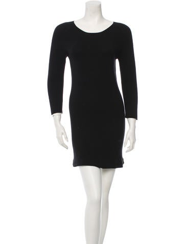 The Row Long Sleeve Sweater Dress None