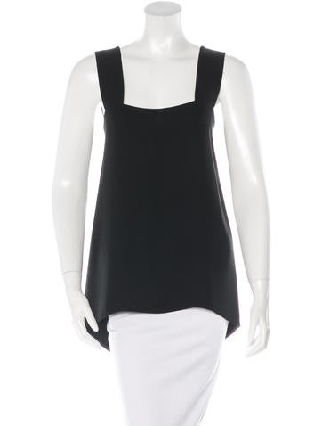 The Row Sleeveless Square Neck Top None