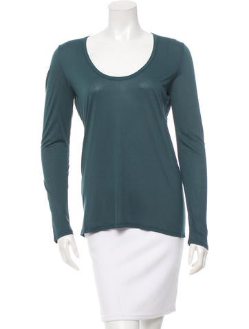 The Row Long Sleeve Top None