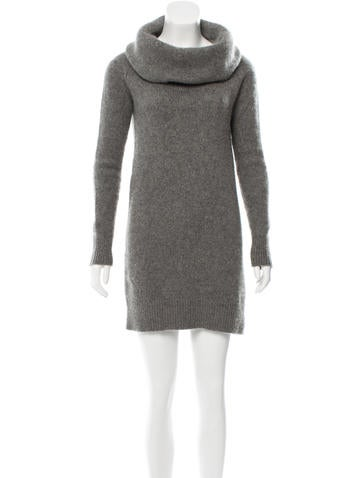 The Row Cowl Neck Sweater Dress None