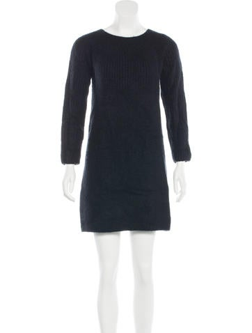 The Row Mini Sweater Dress None