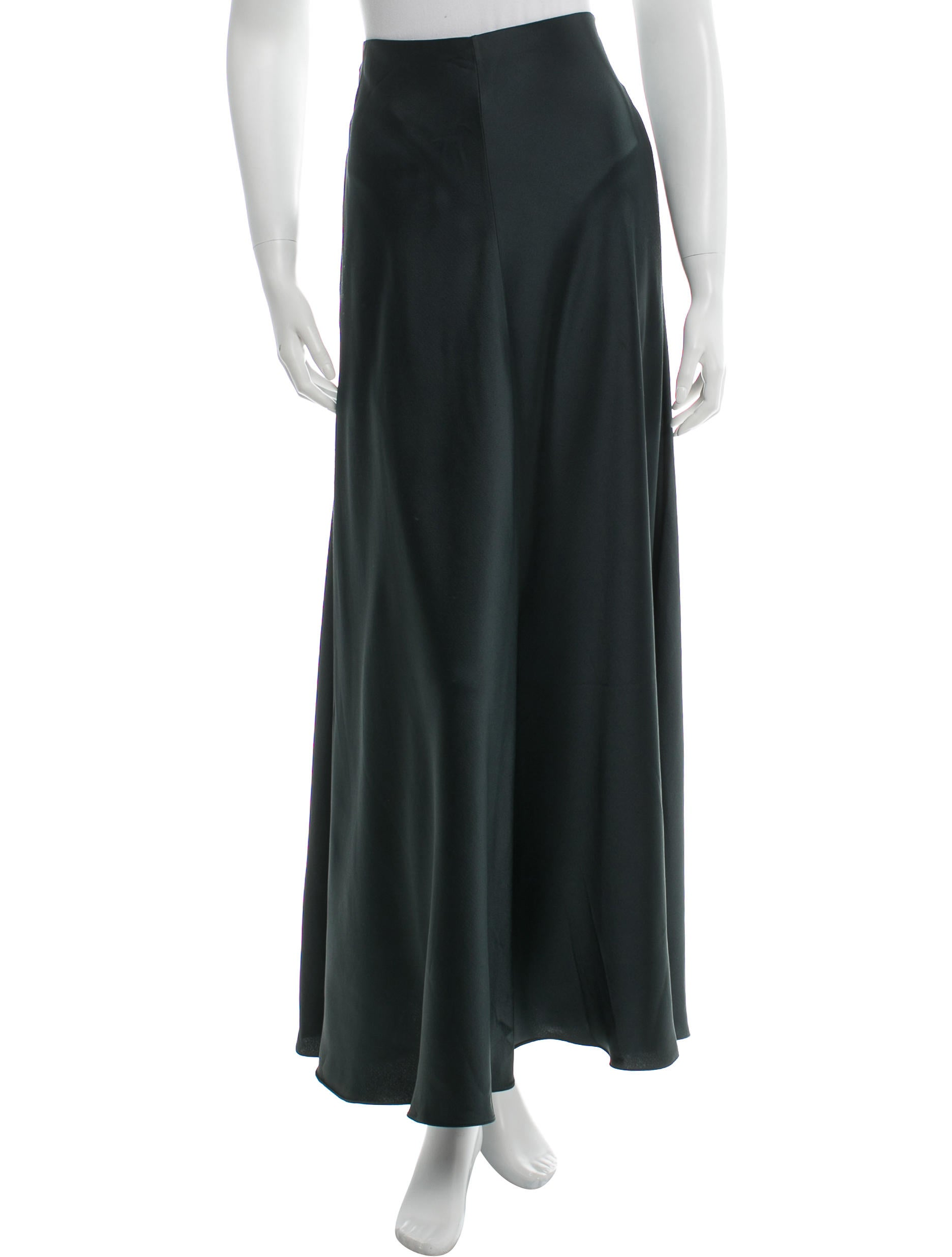 the row a line maxi skirt clothing thr29009 the realreal