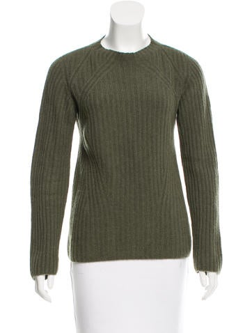 The Row Rib Knit Cashmere Sweater None