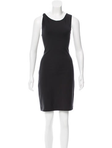 The Row Sleeveless Knit Dress None