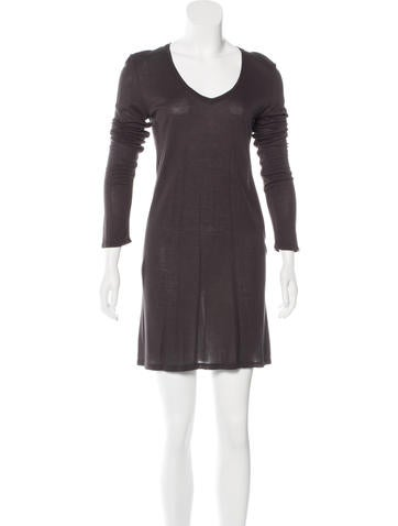 The Row Knit Mini Dress None