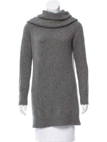 The Row Cowl Neck Knit Sweater None