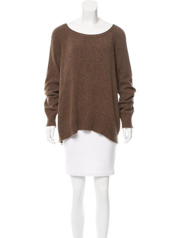 The Row Oversize High-Low Sweater None