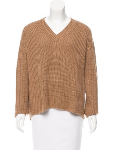 The Row Oversize Knit Sweater None