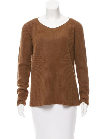 The Row Knit Scoop Neck Sweater None
