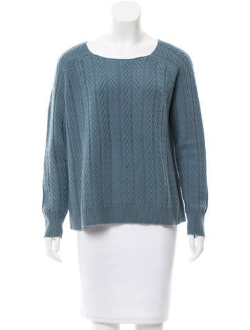 The Row Oversize Cable Knit Sweater None