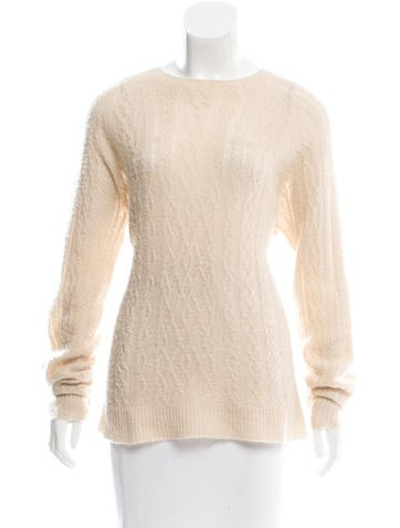 The Row Cable Knit Oversize Sweater None