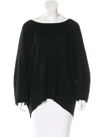 The Row Knit Long Sleeve Sweater None