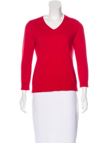 The Row Wool & Cashmere-Blend Sweater None