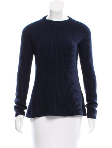The Row Wool & Cashmere-Blend Sweater w/ Tags None