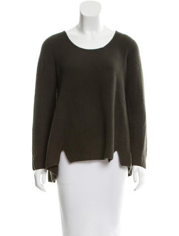 The Row Oversize Bateau Neck Sweater None