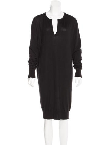 The Row Cashmere Sweater Dress None
