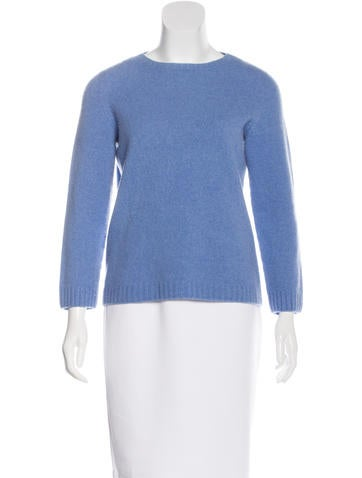 The Row Scoop Neck Cashmere Sweater None
