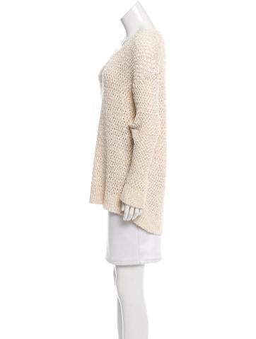 Oversize Crocheted Sweater