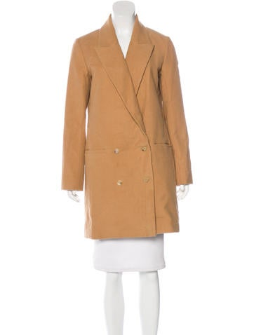The Row Double-Breasted Knee-Length Coat w/ Tags None
