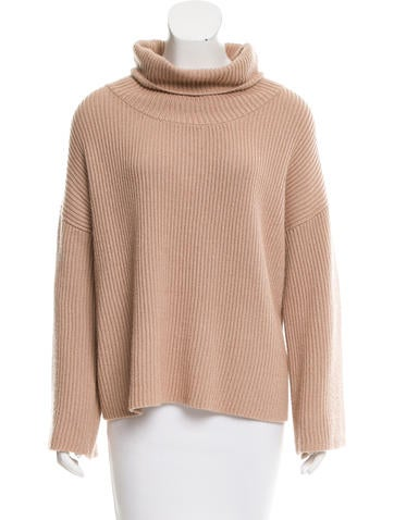 The Row Cashmere & Silk-Blend Oversize Sweater None