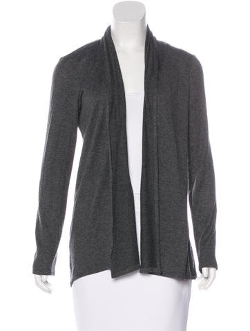 The Row Long Sleeve Open Cardigan None