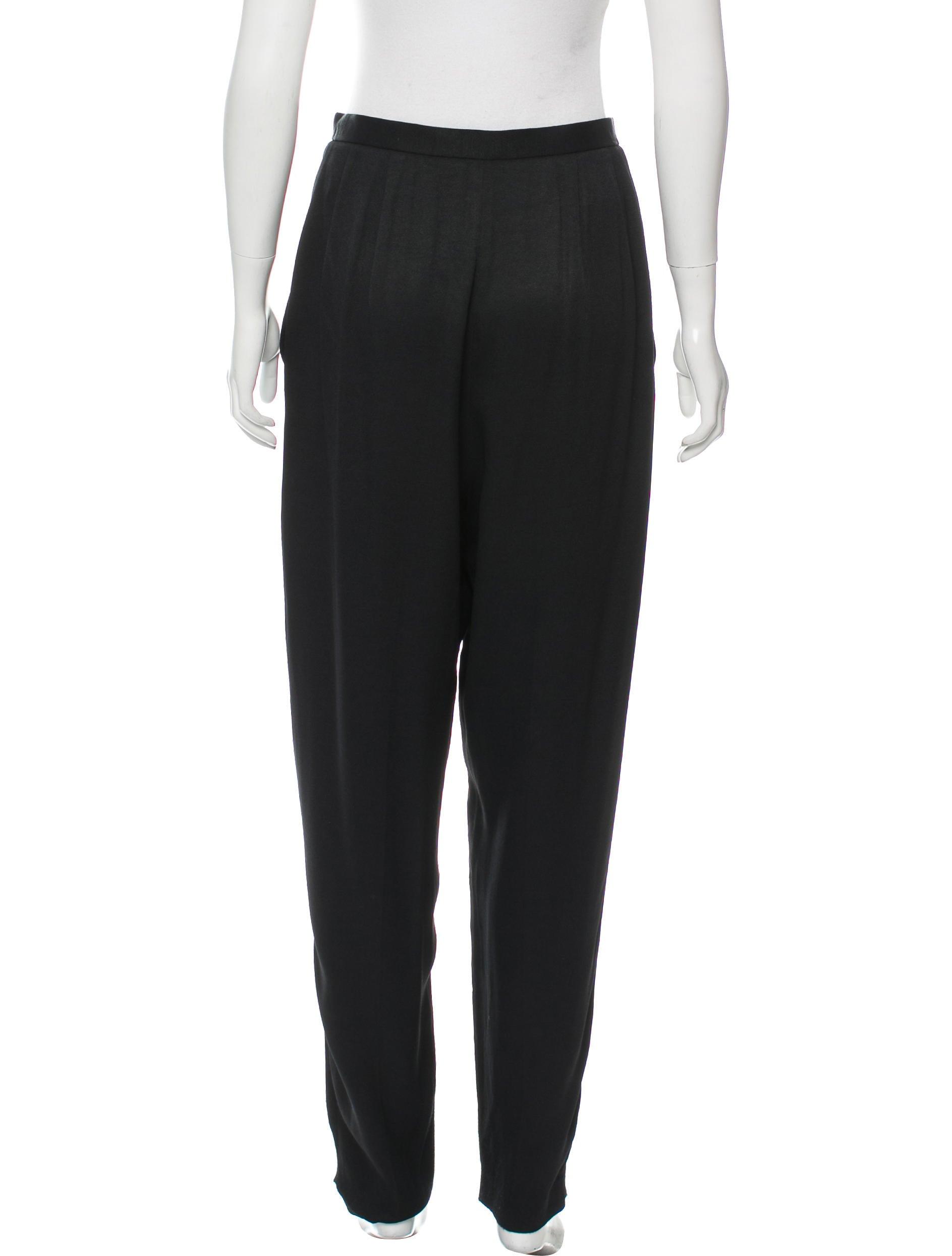 Amazing Fendi Womenu2019s Crepe Tapered Pants | Style-dresses