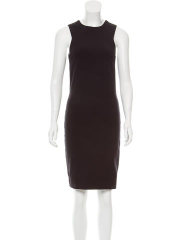 The Row Knit Bodycon Dress None