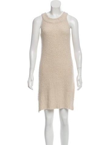 The Row Bouclé Knit Dress None
