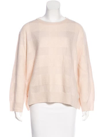 The Row Cashmere & Silk Sweater None