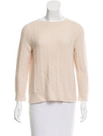 The Row Cashmere And Silk-Blend Sweater None