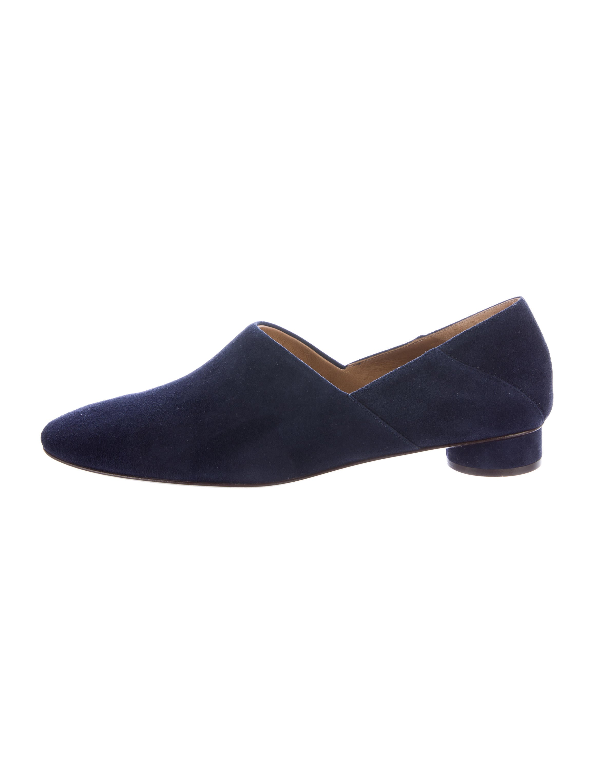The Row Noelle Suede Loafers w/ Tags discount wide range of Z0KAON
