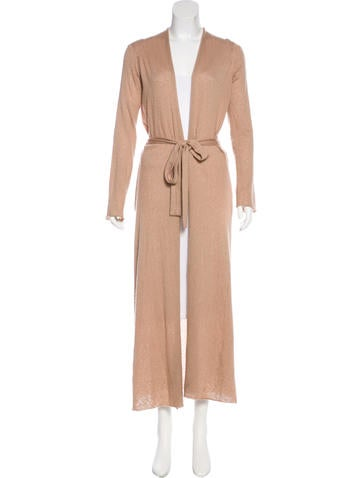 The Row Mila Cashmere-Blend Cardigan None