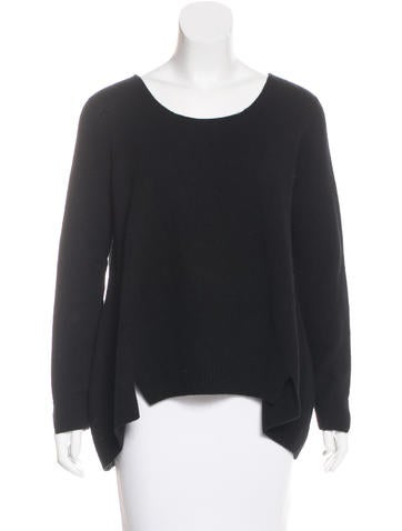 The Row Knit High-Low Sweater None