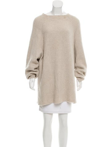 The Row Oversize Cashmere Sweater None