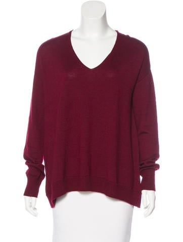 The Row Cashmere V-Neck Sweater None