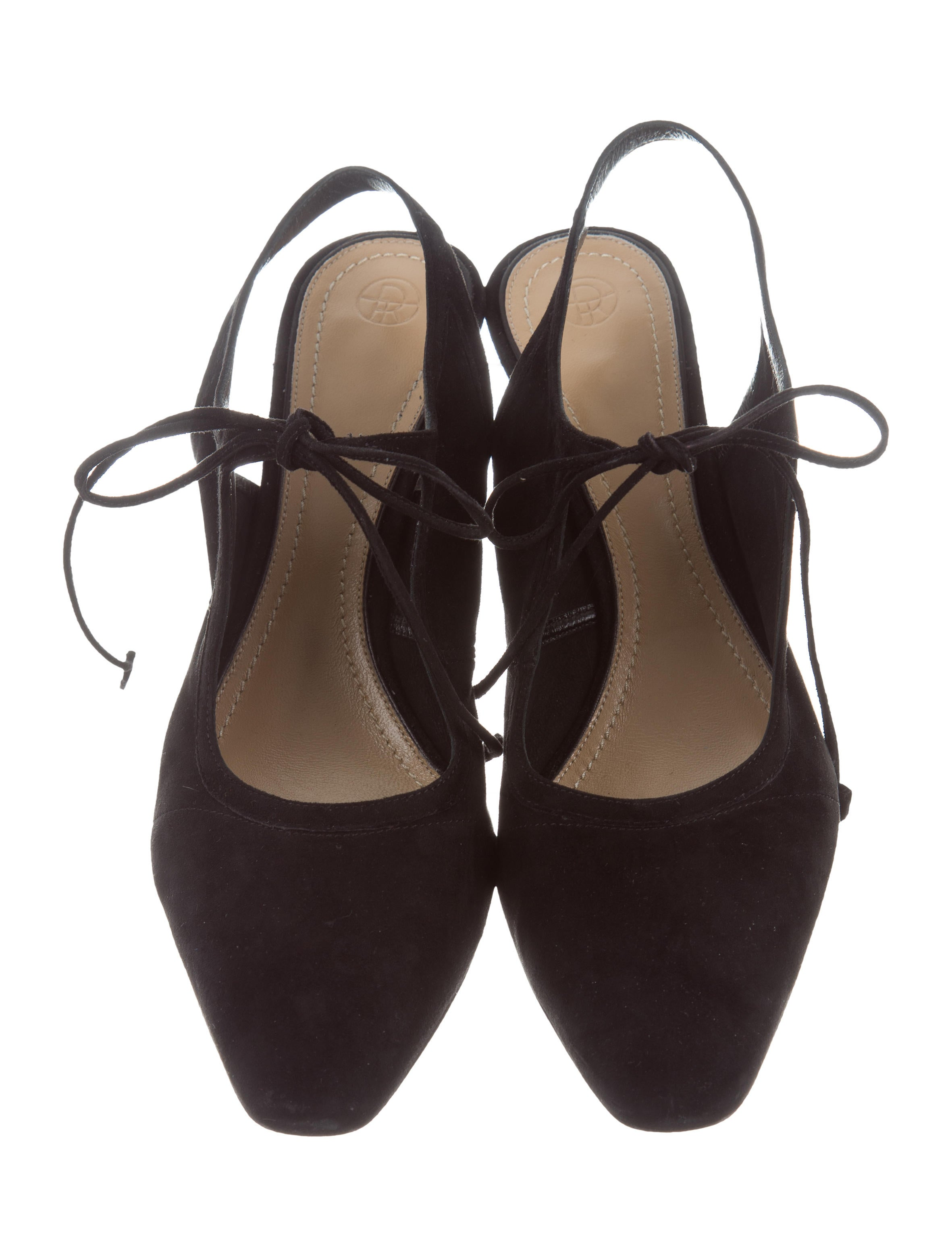 86023be571d The Row 2017 Camil Suede Pumps - Shoes - THR34077