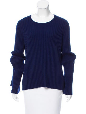 The Row Cashmere & Silk-Blend Sweater None