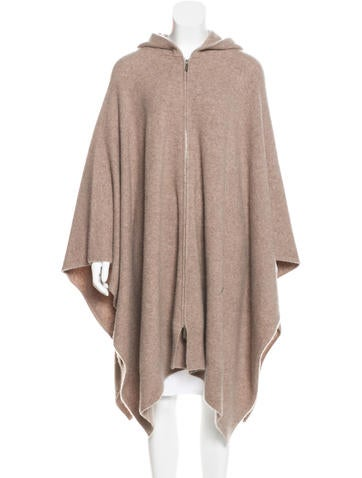 The Row Cashmere Hooded Poncho w/ Tags None