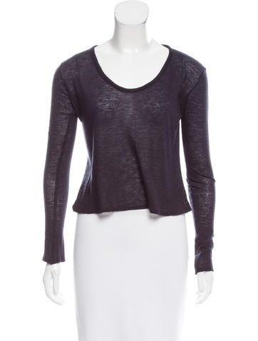 The Row Long Sleeve Knit Top None