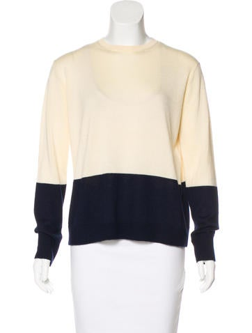The Row Cashmere & Silk-Blend Knit Sweater None